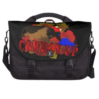 Funny Cowboy Up T-shirts & Gifts Bags For Laptop