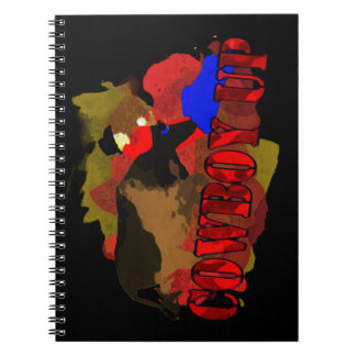 Funny Cowboy Up T-shirts & Gifts Note Book