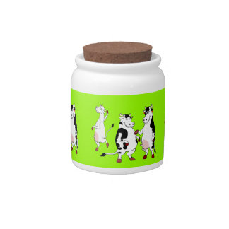 Funny Cows candy jar