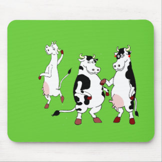 Funny cows cartoon mousepads