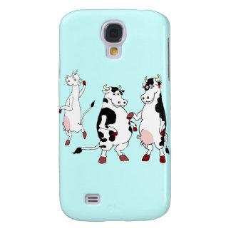 Funny cows cartoon samsung galaxy s4 case