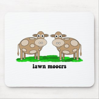 funny cows mousepad