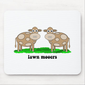 funny cows mouse pad