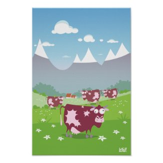 Funny Cows print