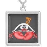 Funny Crab Pirate Custom Jewelry