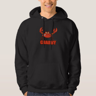 funny crabby red crab with an attitude pullover