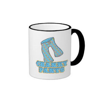 Funny Cranky Pants Design Coffee Mug
