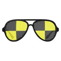 Funny Crash Test Dummy Party Sunglasses at Zazzle