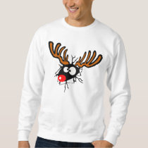 Funny crashing through Christmas shirt