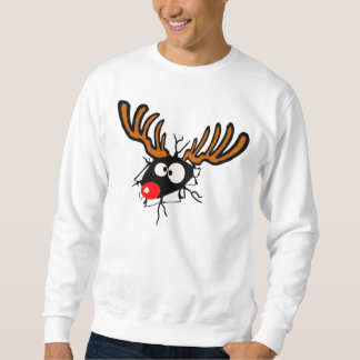 Funny crashing through Christmas shirt