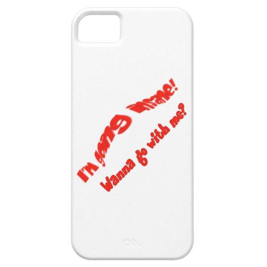 Funny Crazy   Insane Humor iPhone SE/5/5s Case