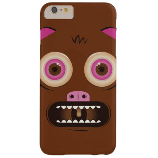 Funny crazy monster barely there iPhone 6 plus case