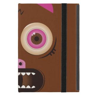 Funny crazy monster iPad mini cover