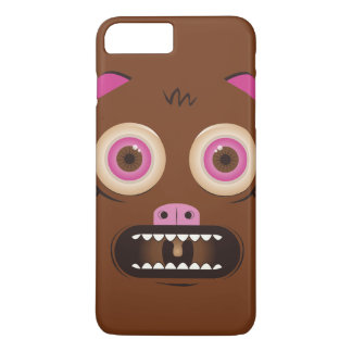 Funny crazy monster iPhone 8 plus/7 plus case