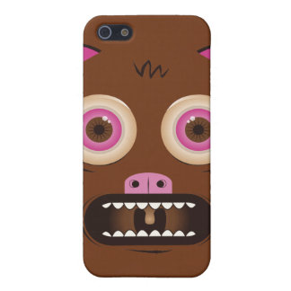 Funny crazy monster iPhone 5/5S case