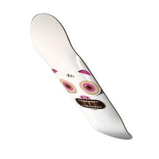 Funny crazy monster custom skateboard