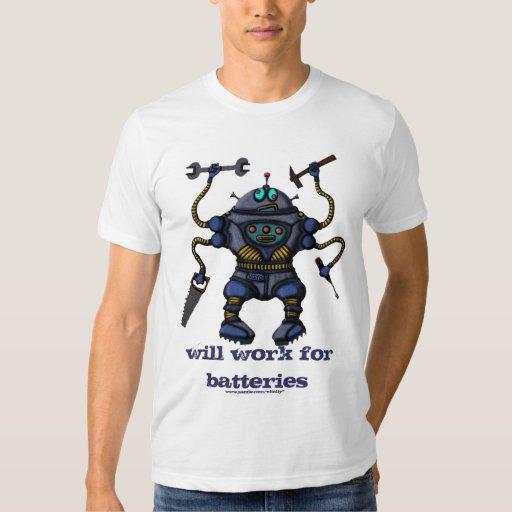 Funny Crazy Robot T Shirt Design Zazzle