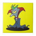 funny creepy vampire catoon character