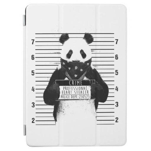funny crime panda iPad air cover