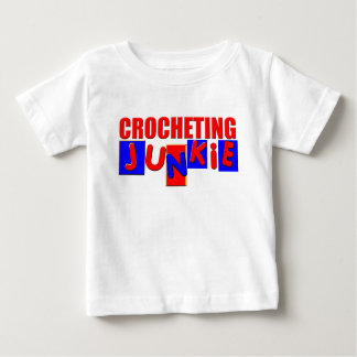 Funny Crocheting Baby T-Shirt