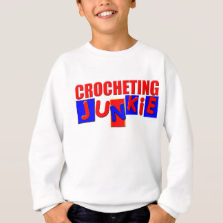 Funny Crocheting Sweatshirt