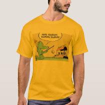 Funny Crocodile Cartoon Shirt