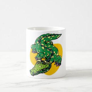Funny Crocodile Coffee Mug