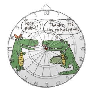 Funny Crocodile Dartboard