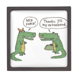 Funny Crocodile Gift Box