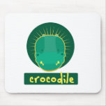 funny crocodile mousepad