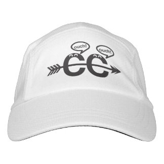 Funny Cross Country Runner - Ouch! Headsweats Hat
