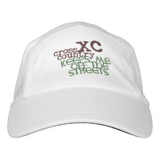 Funny Cross Country Running © Keeps me off Streets Hat