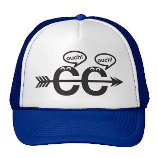 Funny Cross Country Running - Ouch! Trucker Hat