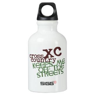 Funny Cross Country Running SIGG Traveler 0.3L Water Bottle
