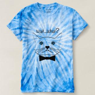 Funny cross-eyed Cat, Cool Men's Cyclone Tie-Dye T-shirt