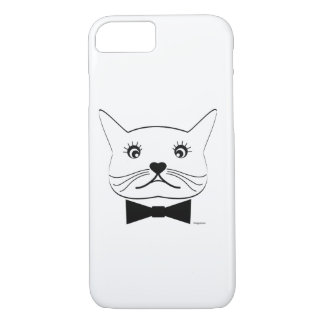 Funny cross-eyed Male Cat, Cool iPhone 8/7 Case