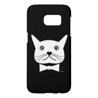 Funny cross-eyed Male Cat, Cool Samsung Galaxy S7 Case