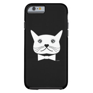 Funny cross-eyed Male Cat, Cool Tough iPhone 6 Case