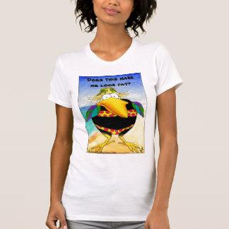 Funny Crow Beach Summer Vacation T-Shirt