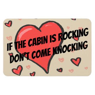 Funny Cruise Cabin Door Magnet