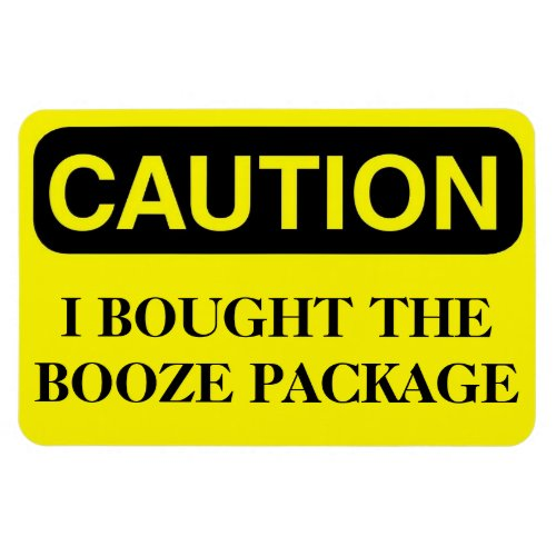 Funny Cruise Cabin Door Magnet _ Booze Package