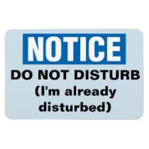 Funny Cruise Cabin Door Magnet - Do Not Disturb