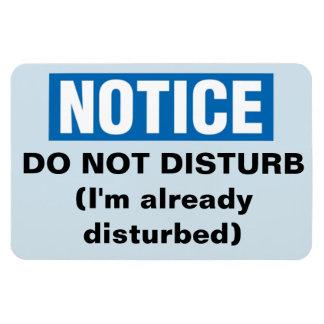 Funny Cruise Cabin Door Magnet - Do Not Disturb