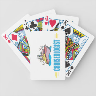 Funny Cruise Ship Bicycle Playing Cards