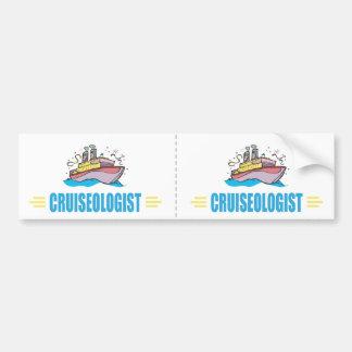 Funny Cruise Ship Bumper Sticker