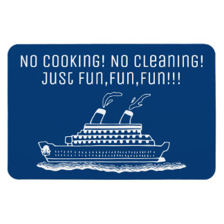 Funny Cruise Ship Cabin Stateroom Door Marker Magnet