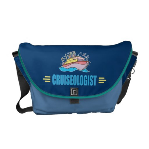 Funny Cruise Ship Commuter Bags