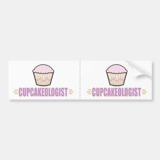 Funny Cupcake Lover Car Bumper Sticker