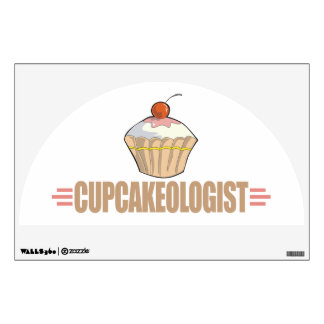 Funny Cupcake Wall Decals
