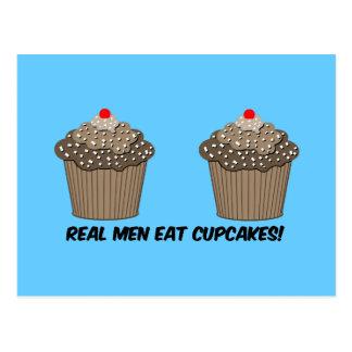 funny cupcakes postcard